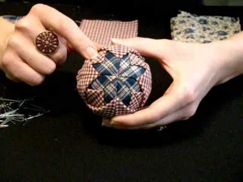 Homemade Quilted Christmas Ornaments Tutorial - Ben and Me
