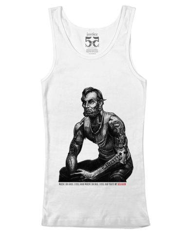 Lincoln Vintage Mens Tank Top. THIS IS  AMAZING. Someone get me this pls.