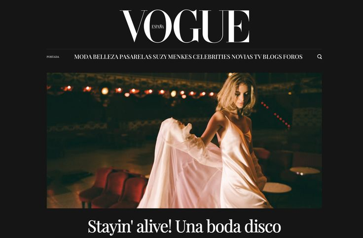 Last fashion campaign for Otaduy published in Vogue Spain