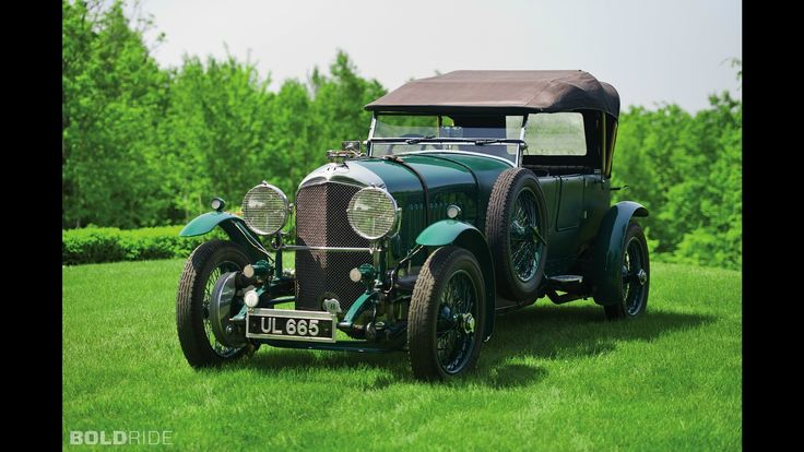 Bentley 4 1/2-Litre Open Tourer