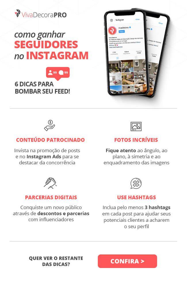 Como Ganhar Seguidores No Instagram 10 Dicas Uteis Infografico