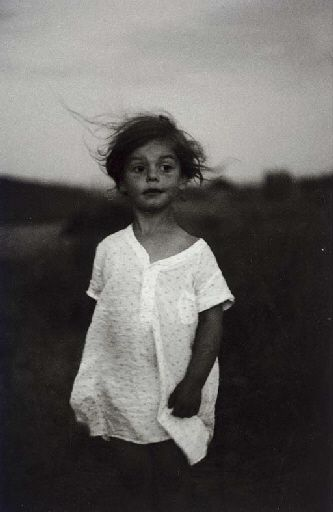 Diane Arbus, Child in a Night Gown, Shelter Island, New York, 1957  This face reminds me of a pic I have of myself when I was little.