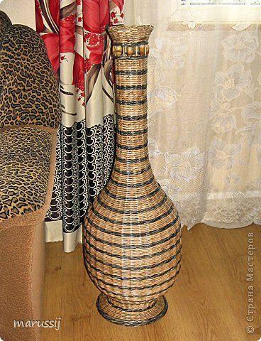Поделка изделие Лепка Плетение Малахитовая шкатулка Трубочки бумажные Фарфор холодный фото 9