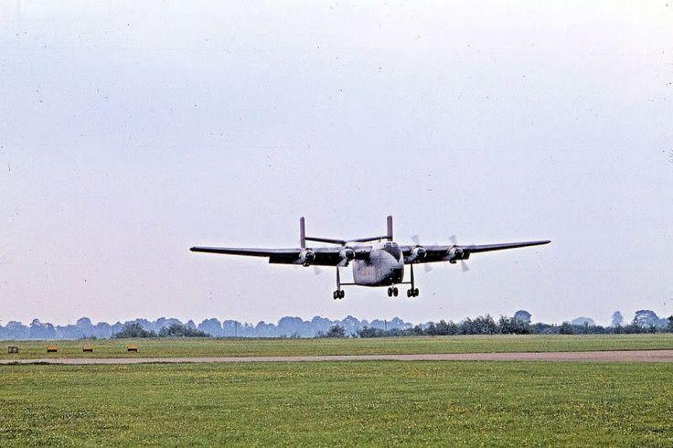Blackburn Beverly landing at RAF Abingdon