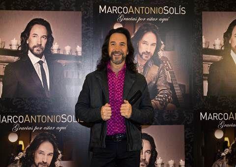 MARCO ANTONIO SOLIS debuta #1 en ventas en Estados Unidos y Puerto Rico con 'GRACIAS POR ESTAR AQUI' #marcoantoniosolis #viplatino