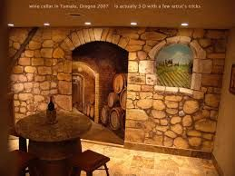 Image result for cellar murals wallpaper
