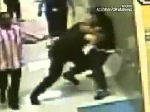Police Brutality - Officer  Beats Special Ed Kid (+playlist)