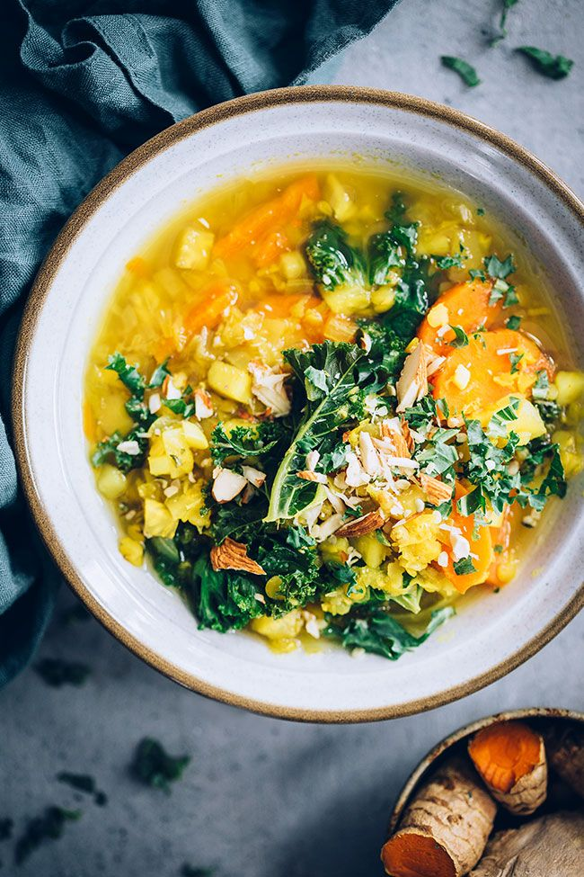 Anti Inflammatory Lentil Soup