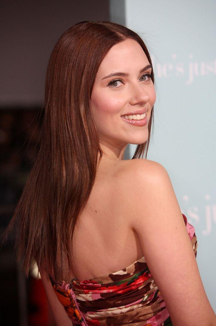 Celebrity Hairstyles Scarlett Johansson