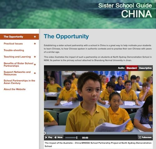 Sister School Guide - China | Asia Education Foundation