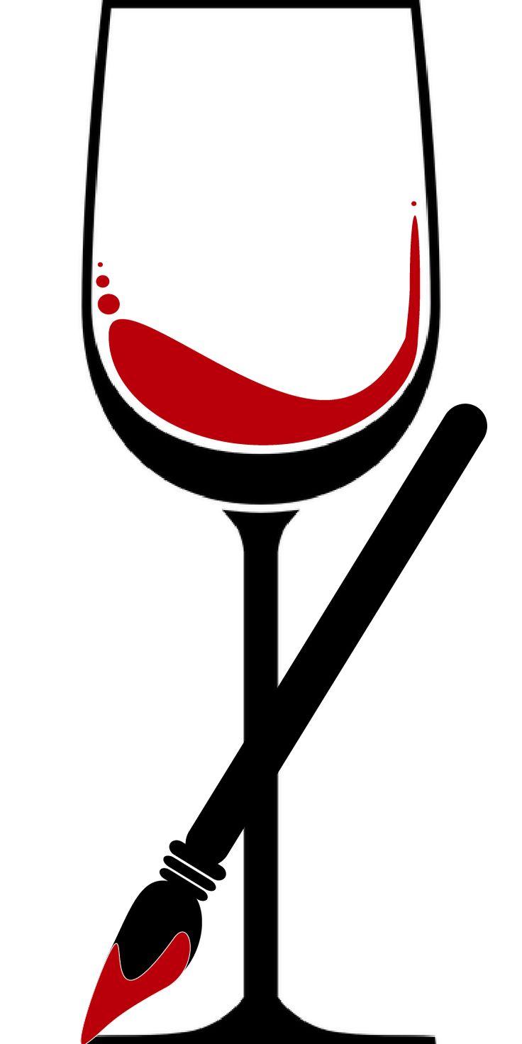 74 best glasses images on pinterest wine bottles wine for Paint vino