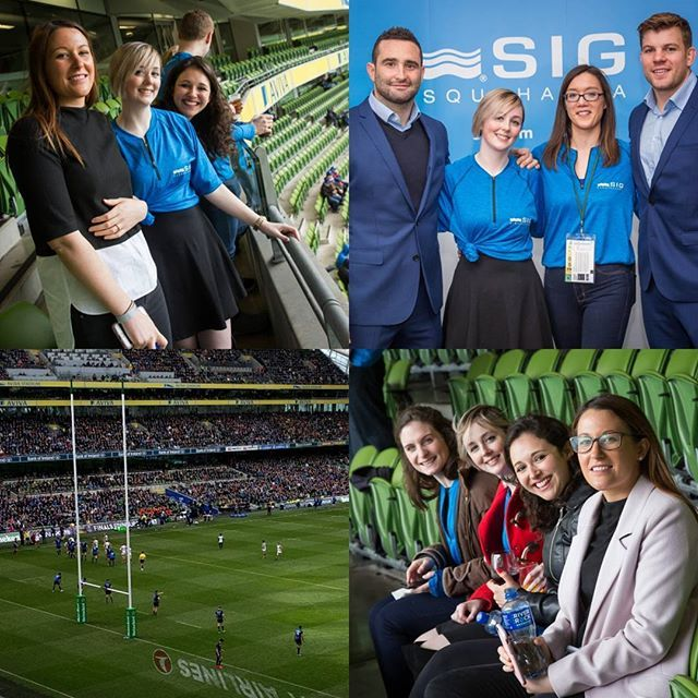 Fun day out with work at the Leinster Vs Wasps rugby game. Got to meet some of the players too!  #rugby #leinster #wasps #leinsterrugby #irishrugby #waspsrugby #avivastadium #aviva #corporateevents #celebs #goodtimes #evedeso #eventdesignsource - posted by Sinéad Foy https://www.instagram.com/sinn_7. See more Event Designs at http://Evedeso.com