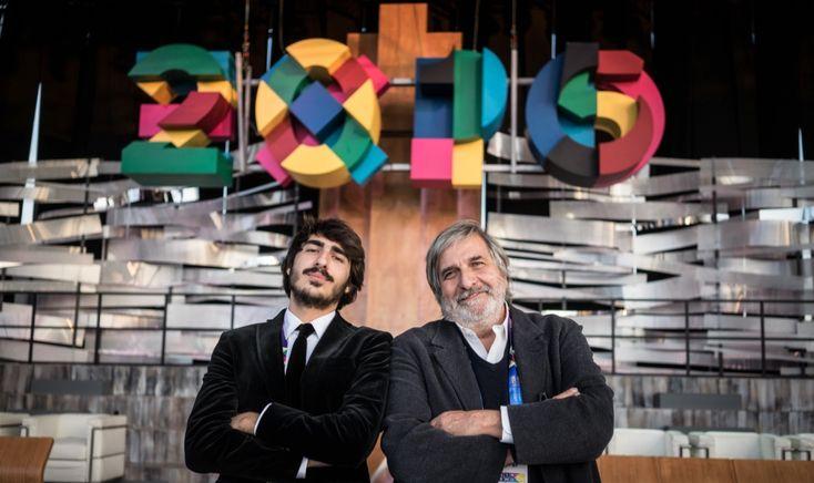 Alfredo Accatino e Alessandro Accatino, closing ceremny Expo Milano 2015
