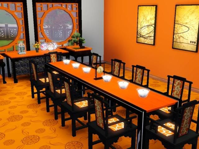 Chinese Style Interiors Chic Look In Modern Dining Room Decorating Ideas Most Elegant Homes