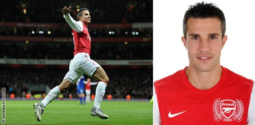 Robin Van Persie is the UK Premier Leagues Top Goalscorer for 2011 and 2012 - What a Great Football Player
