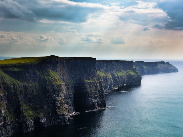 The Cliffs of Moher, Ireland. One of my favorite places. Definitely want to go back one day.