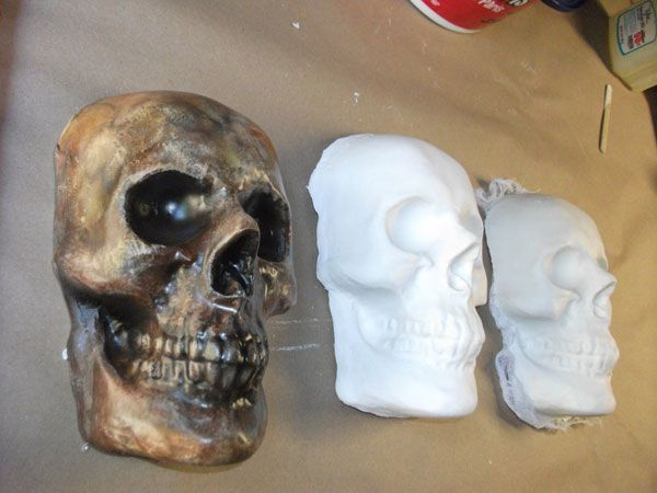 If this looks lot a lot of instructions, its actually real easy. I just talk a lot. You will need: A plastic, vacuum formed skull decoration Some Plas