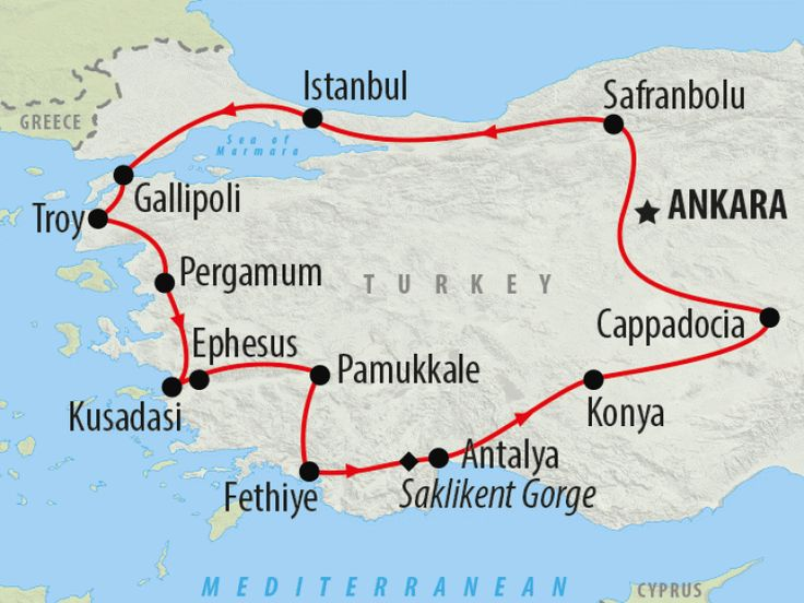 Cultural tour of Turkey in 14 Days | On The Go Tours
