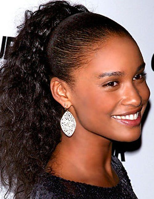 Terrific 1000 Images About Ponytails On Pinterest Short Hairstyles For Black Women Fulllsitofus