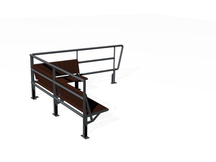 VEST / Bench - fence / Penkki - kaide