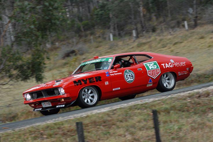 The Beast, in Targa Tasmania livery.