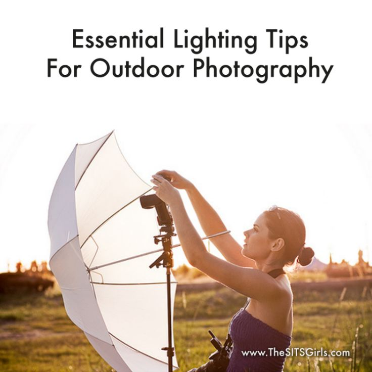 Essential Lighting Tips for Outdoor Photography by Brian Williams/Outdoor Photography Gear via SITS Girls Learn about the role lighting plays in your outdoor photography with these great tips to capture photos that are beautiful and well-lit.