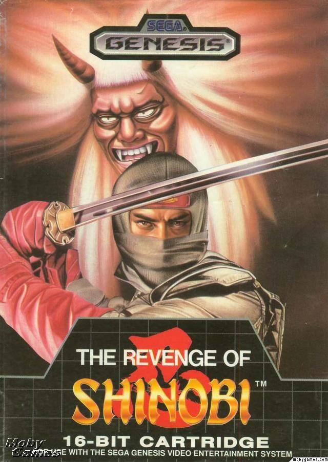 The Revenge of Shinobi Sega Genesis