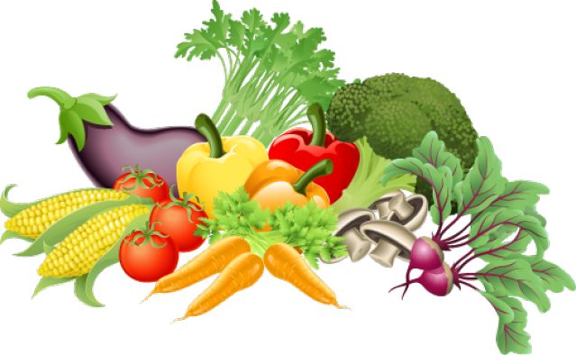 clip art vegetables | Clip Art of Fresh Vegetables