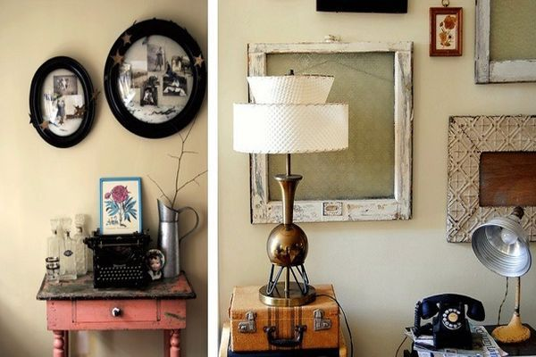vintage style decor | simple tips for decorating your home in vintage style | Home ...