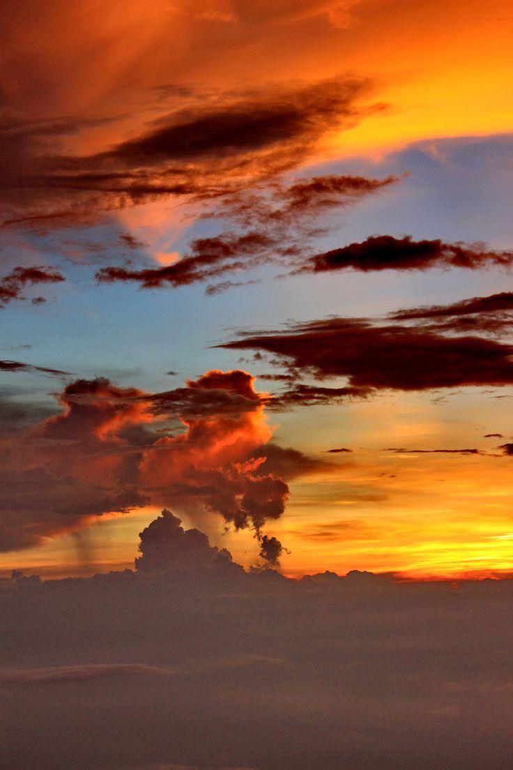 Sunset @camp 7 - Raung