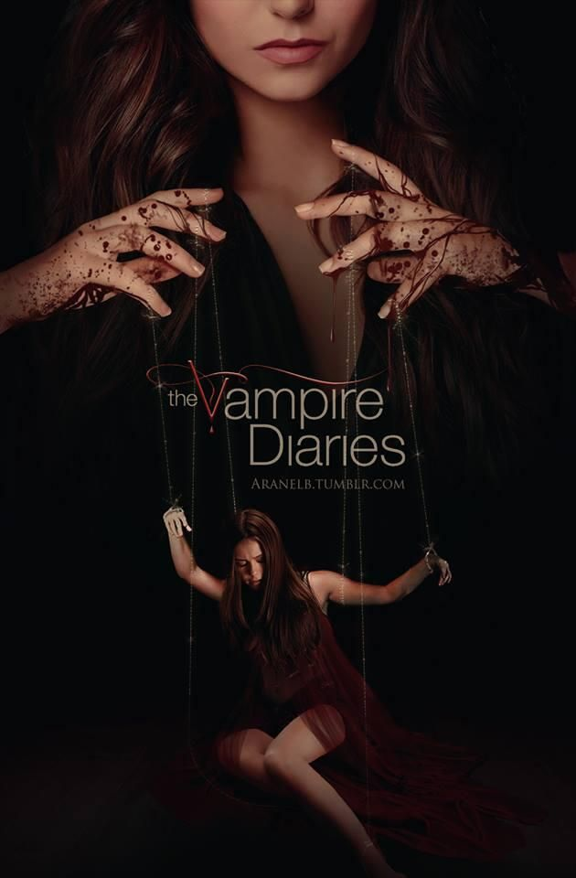 Vampire Diaries Fan-Made Poster Reveals Katherine Playing Puppeteer/marionette puppets (PHOTO)  뱀파이어의 일기 팬이 만든 포스터 캐서린 인형을 재생 계시 (사진),꼭두각시