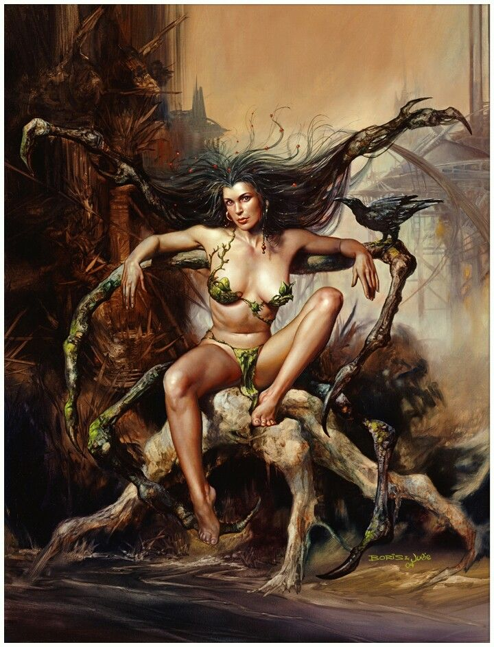 Tamar's Vision by Boris Vallejo and Julie Bell                                                                                                                                                                                 More