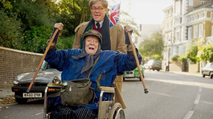 THE LADY IN THE VAN Trailer - Maggie Smith #comedy 2015. A man forms an unexpected bond with a transient woman living in her car that's parked in his driveway. #film #movies
