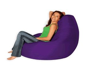 Want A Purple Bean Bag Just Like This Then Head On Over To Hugebeanbags