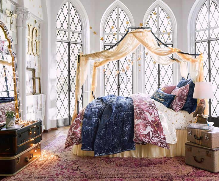 pottery barnu0027s teen line has released a harry potter home collection inspired by the novelsu0027