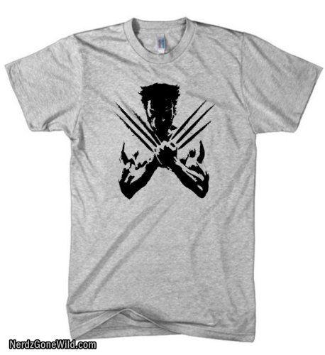 Wolverine Shirt X-Men Marvel Mens Shirt