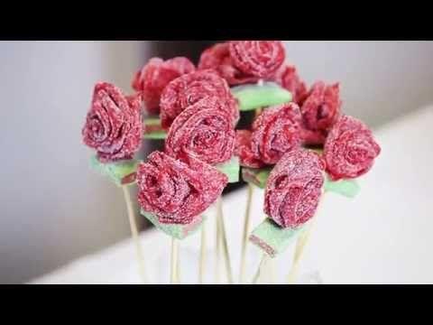 Ramo de Chuches - ¿Cómo se hace un Ramo de Rosas de Golosinas? - YouTube