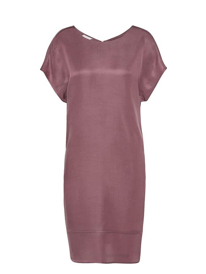 88760348a5 Sukienka w kolorze fioletowym - Talkabout - 50% cupro   40% lyocell ...