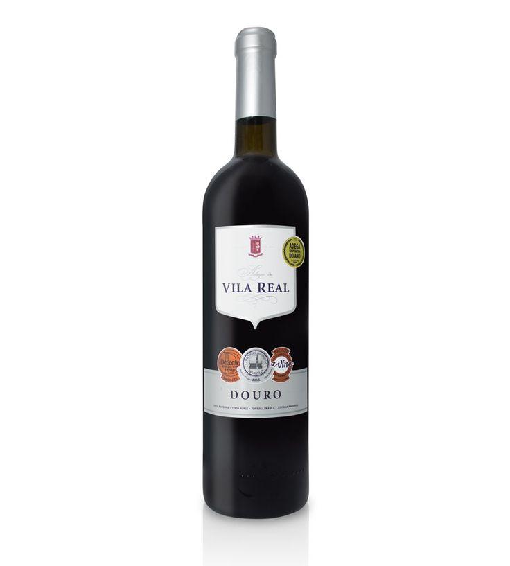Vinho Tinto Vila Real Colheita 2013 75cl Douro DOC - Vinho muito suave e doce com acidez equilibrada.