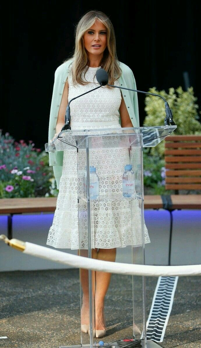 Melania Trump,o it beautiful first lady.