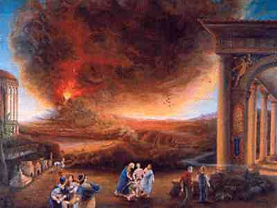 Pompeii Volcano Eruption | When Mount Vesuvius erupted in 79 CE, it wiped the city of Pompeii off ...