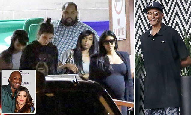 Lamar Odom has left hospital bed as the Kardashians unite around him | Daily Mail Online
