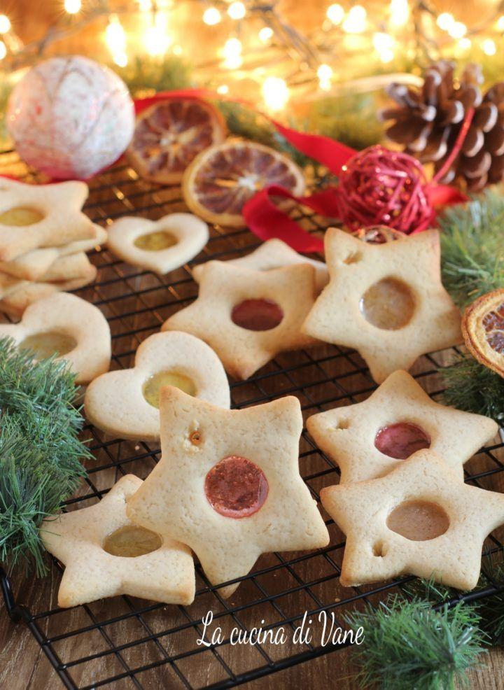 BISCOTTI DI VETRO dolcetti di Natale facili, i biscotti