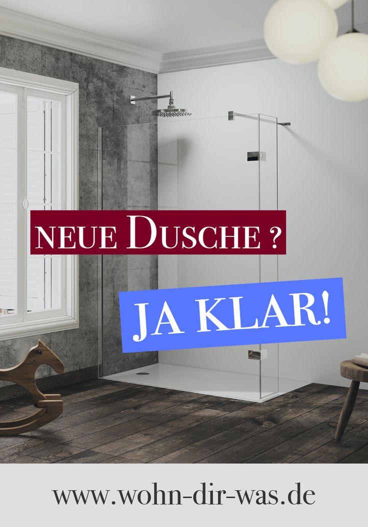 Du wünschst dir eine neue #Dusche für dein #Badezimmer. Hör auf zu träumen und fang an zu #planen. Wir helfen dir dabei. Inspiration, Tipps und Ideen zum Thema Bad findest du auf www.wohn-dir-was.de  Bildmaterial (c) HÜPPE