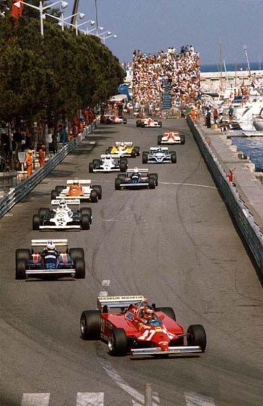 Ferrari f1 126 CK 81 Monaco n.27 Villenueve - Jo3