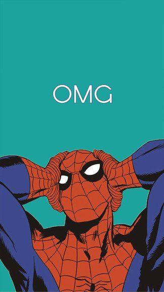 SpiderMan Omg iPhone 6 / 6 Plus wallpaper Marvel