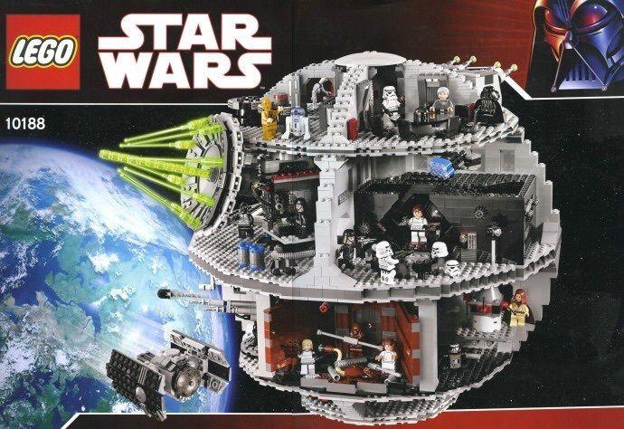 BRAND NEW MINT  RARE SEALED LEGO #10188 STAR WARS DEATH STAR 24 MINIFIGS!