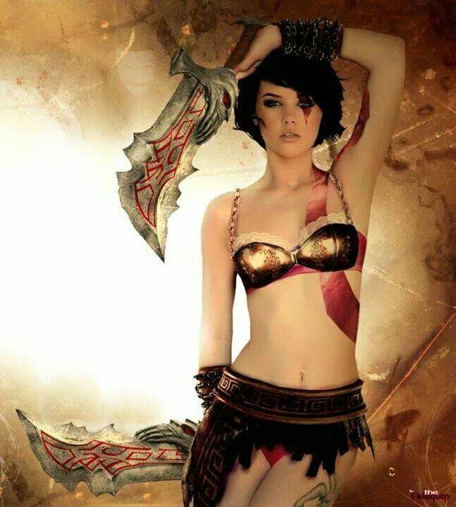 from Carter god of war girls pics naked
