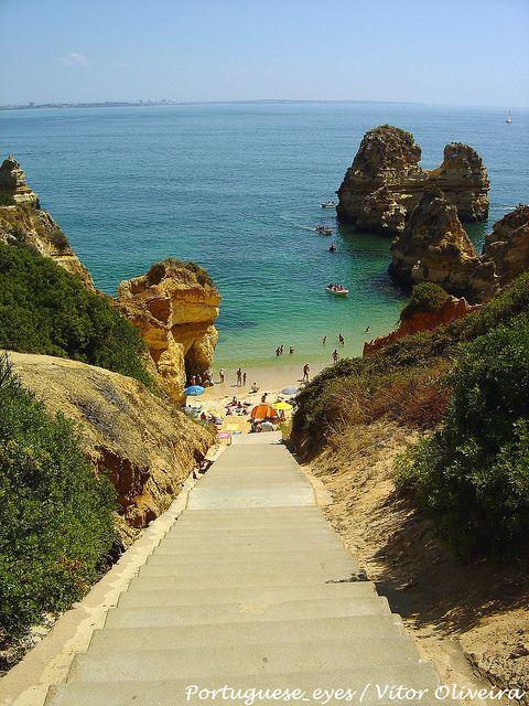 Praia do Camilo, Algarve - Portugal | Algarve Cars | Faro Car Hire | Faro airport Car Hire | Algarve Car Hire - www.algarvecars.co.uk