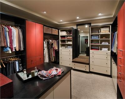 Nice Linear Solutions Closet By Wood Mode Contemporary Closet